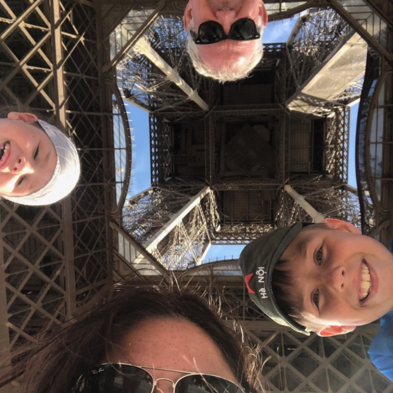 Livingstons at Eiffel tower paris
