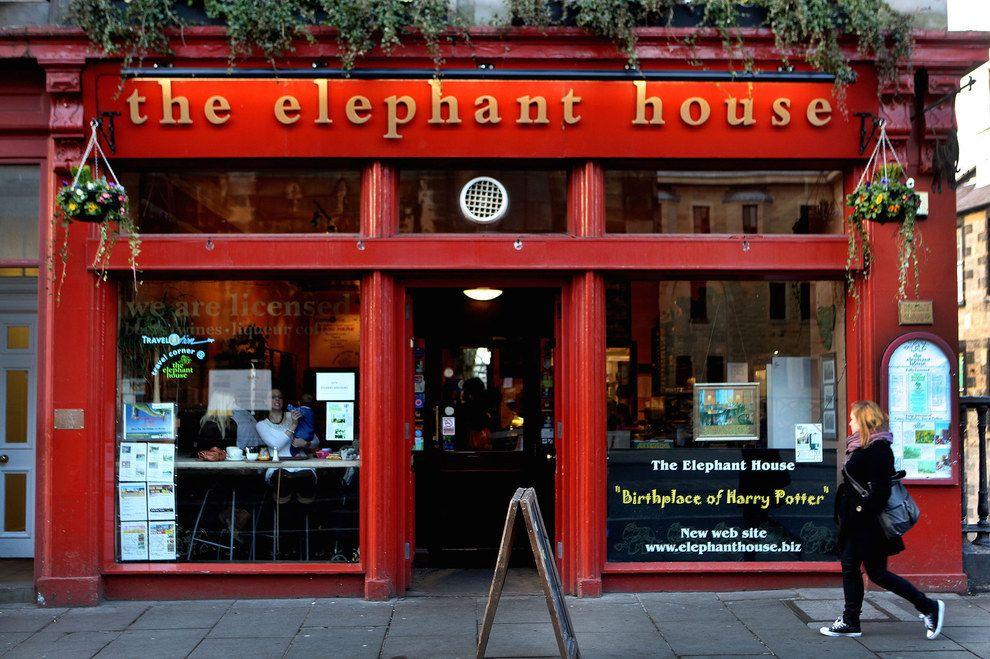 The Elephant House Coffee Shop in Edinburgh