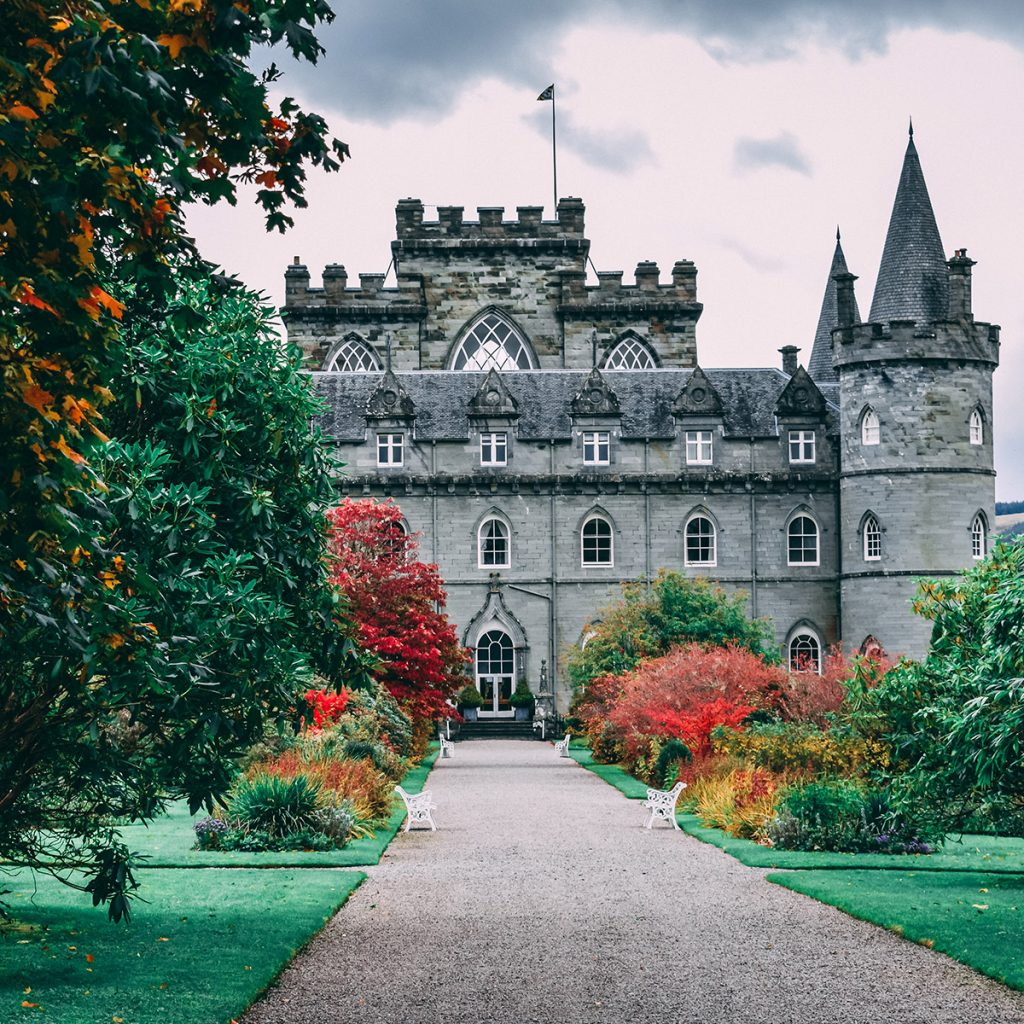 Clan Campbell Castle in Scotland