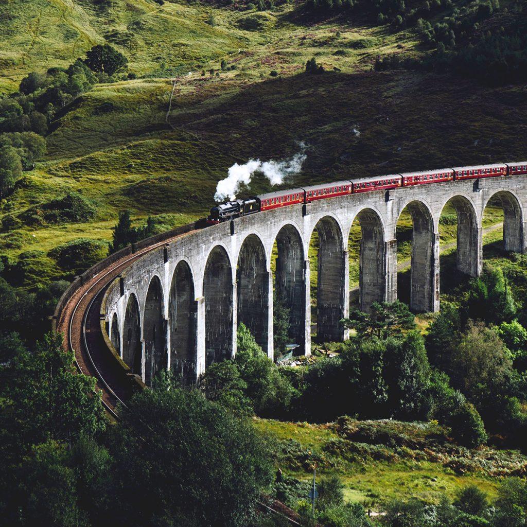 Hogwarts express, Scotland