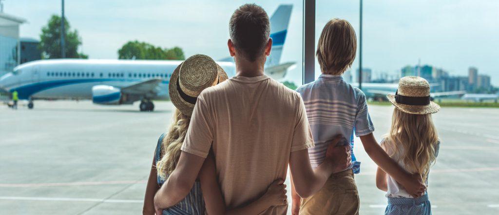 Family 1st class travel