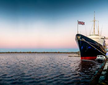 Royal Yacht Britannia, Edinburgh