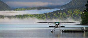 Seaplane at Loch Lomond, Scotland