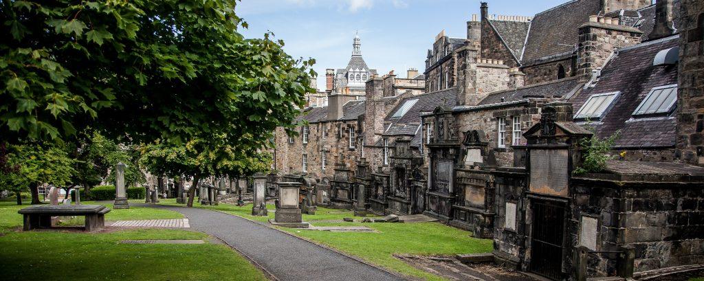 Greyfriars Kirkyard Cementery, Edinburgh
