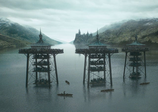 Picture of Harry Potter scenary on the Loch Shield