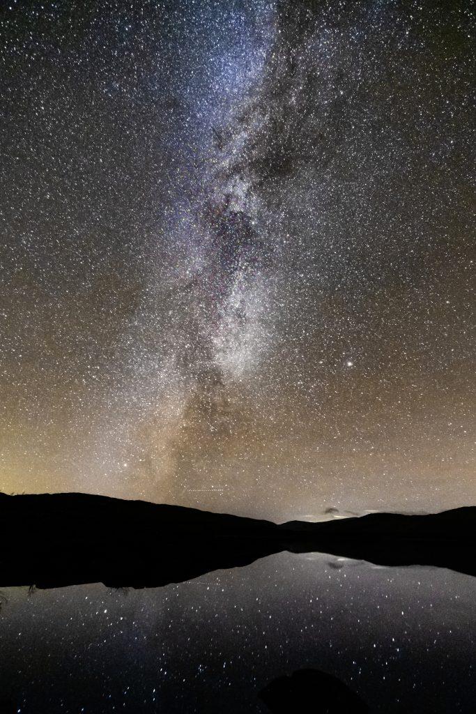 Scotland night sky