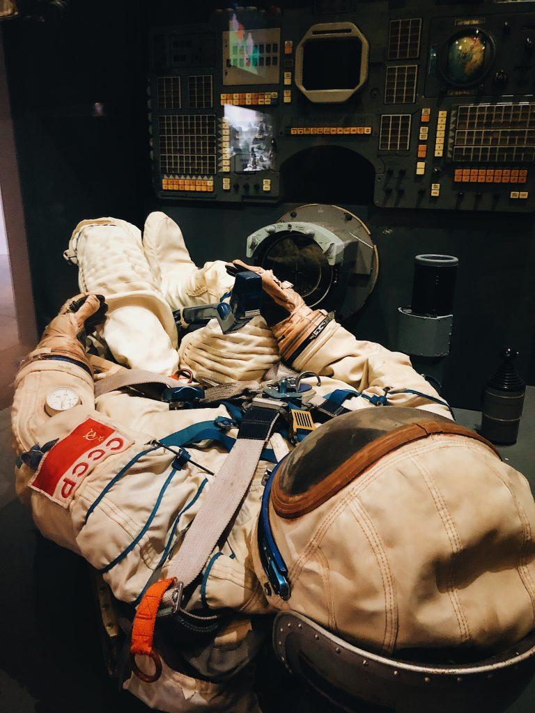 astronaut training in russia